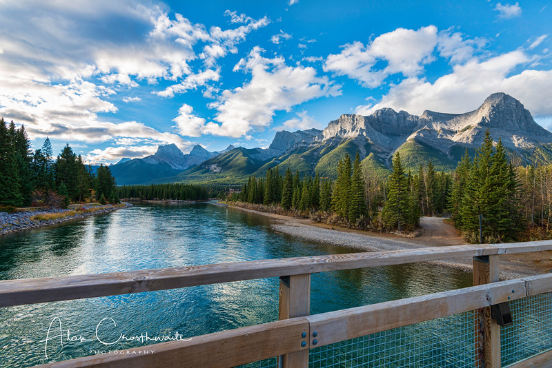 Bridge in Canmore, Canada