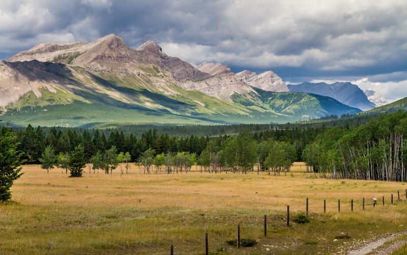 Canadian Rockies Near Crowsnest Pass