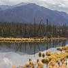 Alaska near the Canadian border