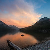 Sunset, Waterton Lakes National Park