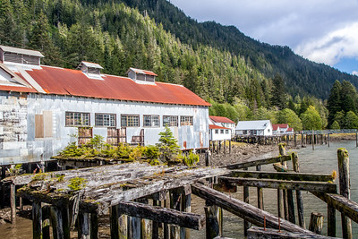 North Pacific Cannery Historic Site, Skeena River, British Columbia.