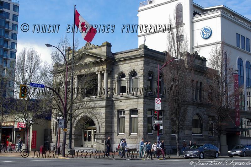 Old Carnigie Library building, Victoria, Canada