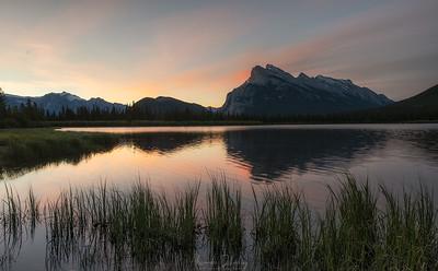 Sunset st Two Jack Lake