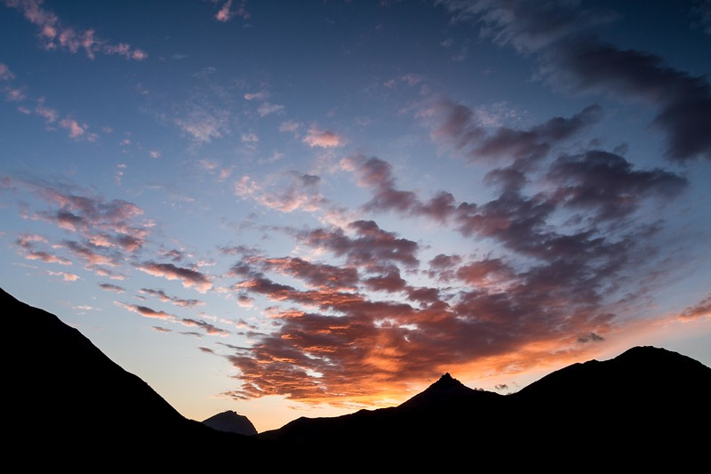 Sunset, Mt. Galwey, Waterton Lakes National Park