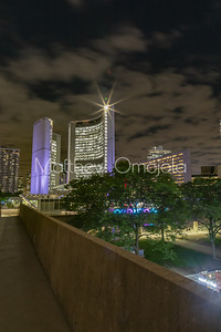Toronto Ontario Canada at night. City Hall