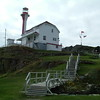 Cape Forchu Lighthouse - Yarmouth Harbor - Nova Scotia