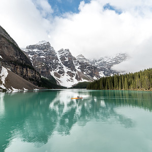 Adventure in Moraine Lake