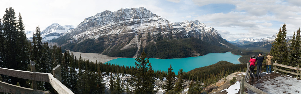 Peyto Lake Panoramic