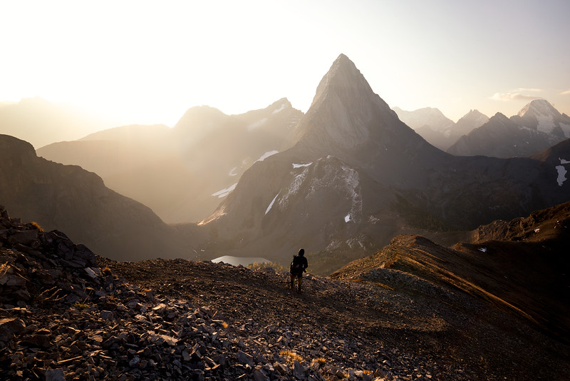 Sunrise at Mount Birdwood