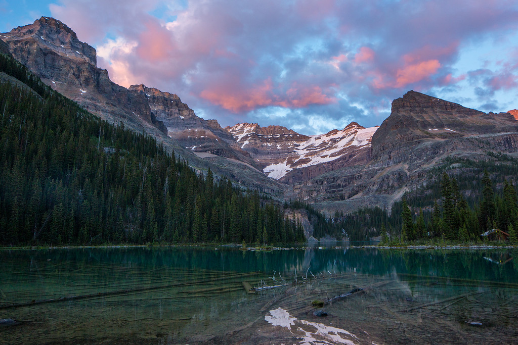 Lake O'Hara Sunset