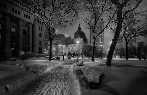 Montreal After the Great Snow Storm of Dec 2012