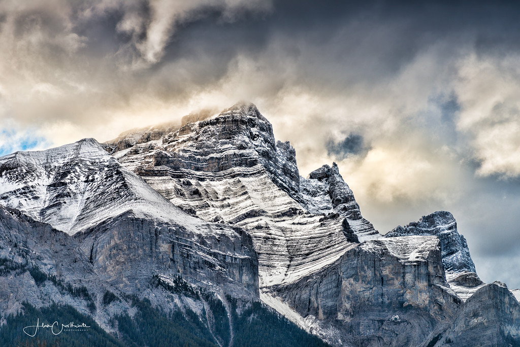 Three Sisters above Canmore