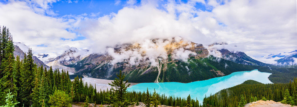 Peyto Lake & Glacier