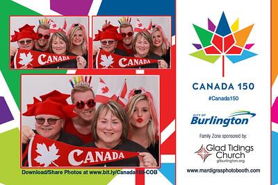 Photo Strips from Canada 150 - City of Burlington Celebration - July 1, 2017