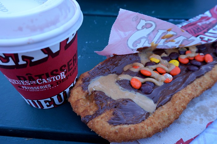 Beavertails and hot chocolate