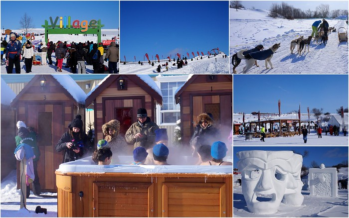 Fun activities at Carnaval de Quebec