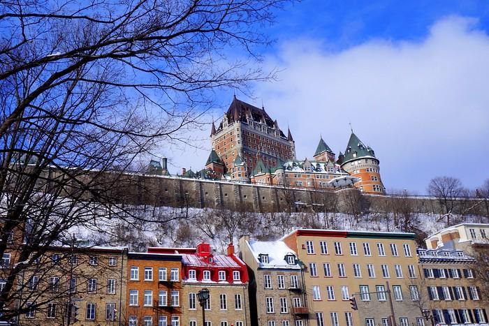 Quebec City and Fairmont Le Chateau Frontenac