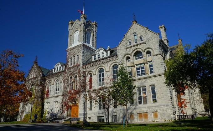 Queen's University campus building located in Kingston, Ontario, Canada