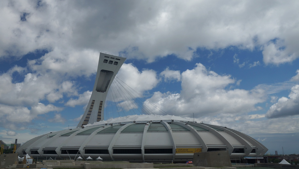 Montreal's Olympic Stadium 'The Big O' - Stade Olympique de Montréal