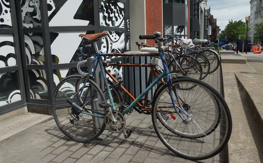 bicycles in Montreal