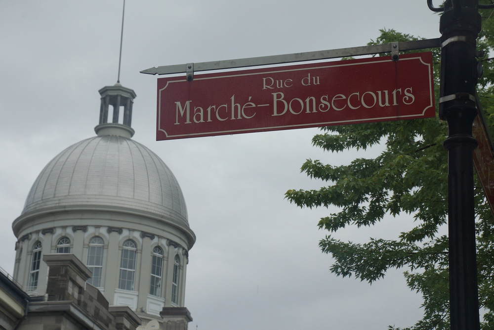 shopping at Bonsecours Market - Marché Bonsecours