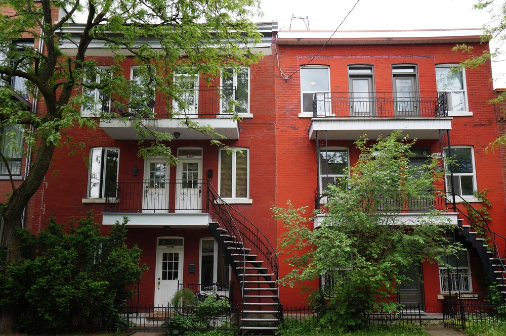 Le Plateau Neighborhood - Le Plateau-Mont-Royal