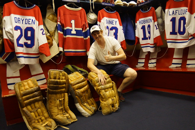 Inside the Montreal Canadiens dressing room