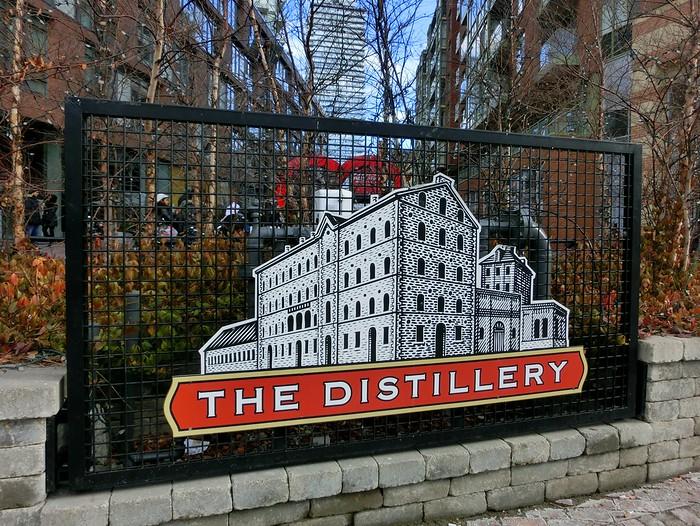Toronto's historic Distillery District.