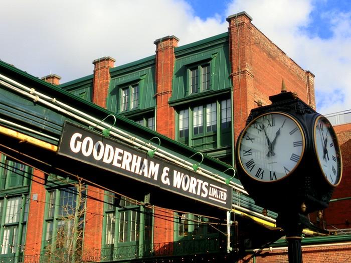 Gooderham and Worts, Distillery District.