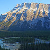 Mt. Rundle at Sunset 4k