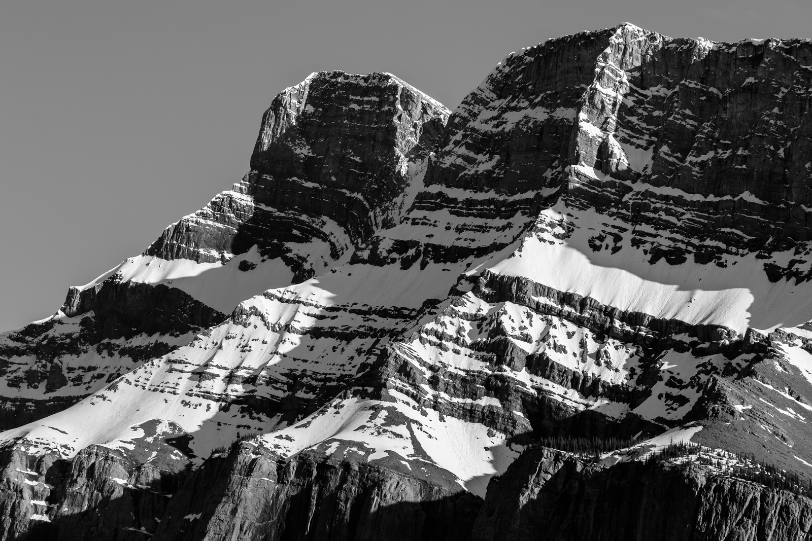 Shadows of Mt. Rundle