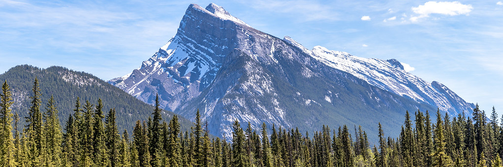 Mt. Rundle Panorama