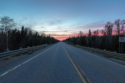Sunset from Algonquin Provincial Park