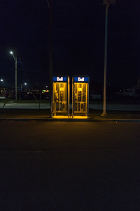 Telephone Booths in Rural Canada