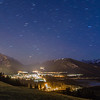 Star Trails over Banff and the Rockies