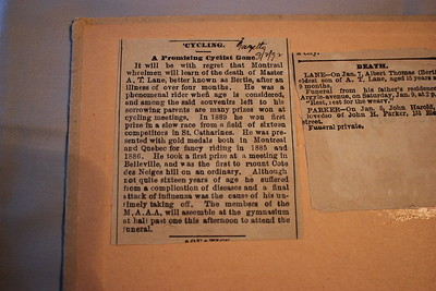 Canadian Wheelman's Assoc 1894