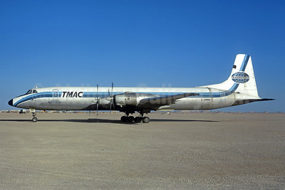 Transmeridian Air Cargo - TMAC Canadair CL-44D4-2 Swingtail G-AWWB (msn 17) (Christian Volpati Collection). Image: 939797.