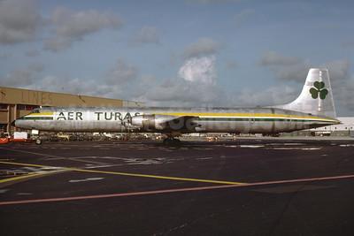 Aer Turas Canadair CL-44J Swingtail EI-BRP (msn 35) MIA (Bruce Drum). Image: 103506.