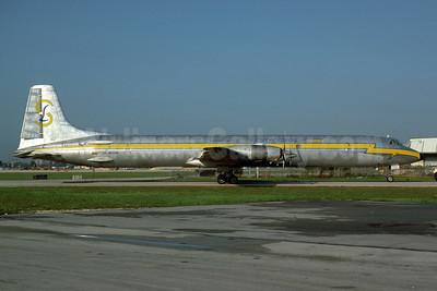 Lineas Aereas Suramericanas Canadair CL-44J Swing Tail HK-3148X (msn 39) MIA (Bruce Drum). Image: 104575.