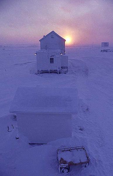 Hall Beach Weather Station<br /> N.W.T. Canada