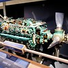 One of the last gasoline-fuelled aircraft engines made - a 24 cylinder engine. Not many 'user serviceable parts' here. Note the variable-pitch propellor, a milestone invention in aviation by Canadian engineer Wallace Turnbull.