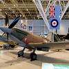 A Spitfire, the hero of the Battle of Britain, was surprisingly small.
