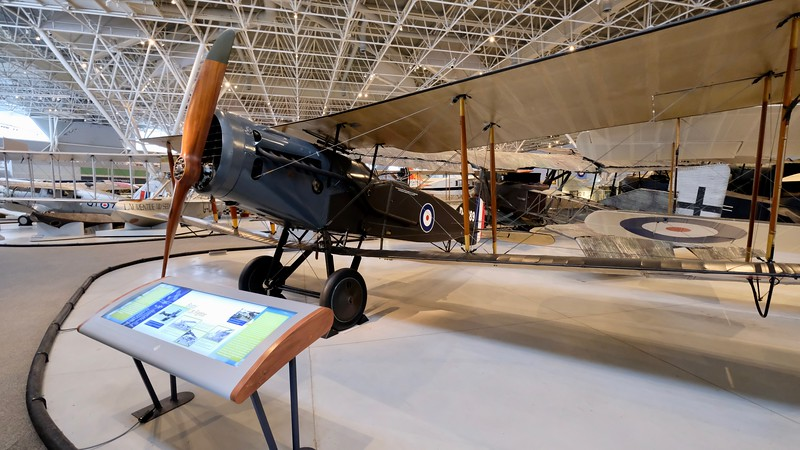 With their massive wings, early fighter aircraft were extremely manoeuvrable, albeit slow.