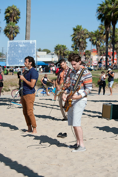 Canadian Band Magic seen in Venice.