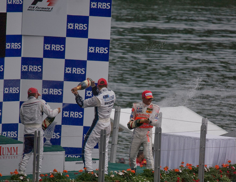Lewis' first win
