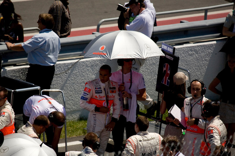 Lewis Hamilton, pre-race