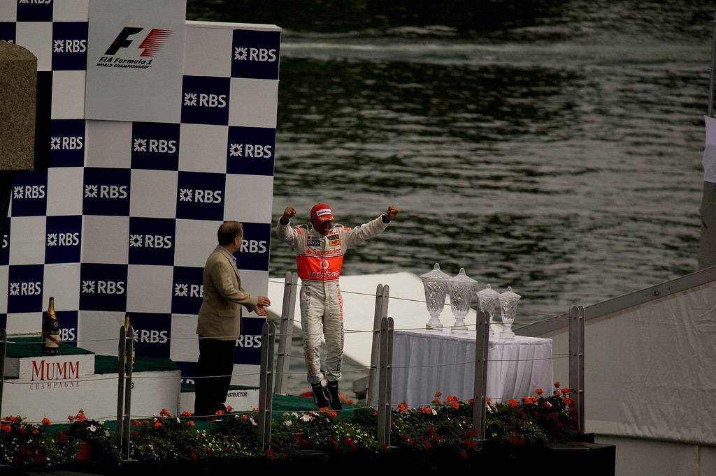 Lewis Hamilton's first win