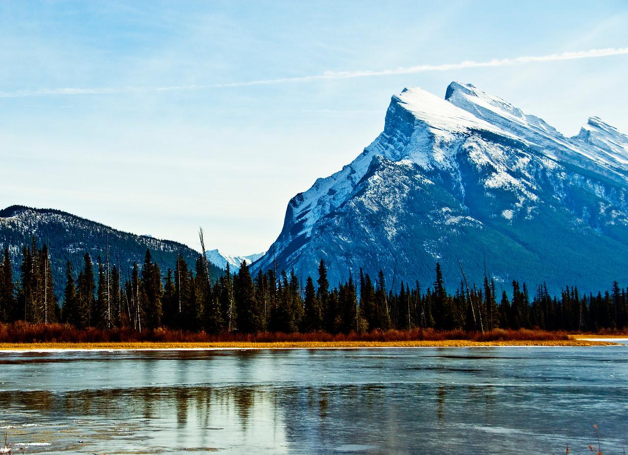 Lake Morane .Alberta Canada