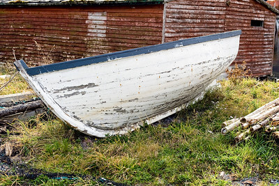 Old boat in Petty Harbour