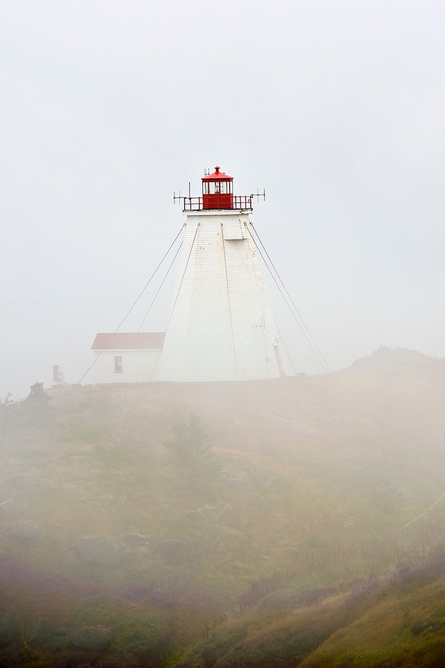 Lighthouse on the Island of Grand Manan